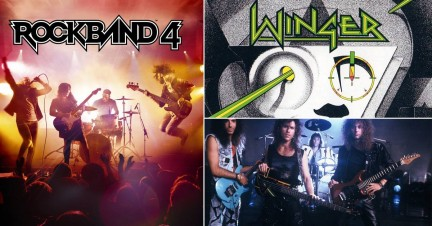 News image for Winger's Seventeen Added to Rock Band